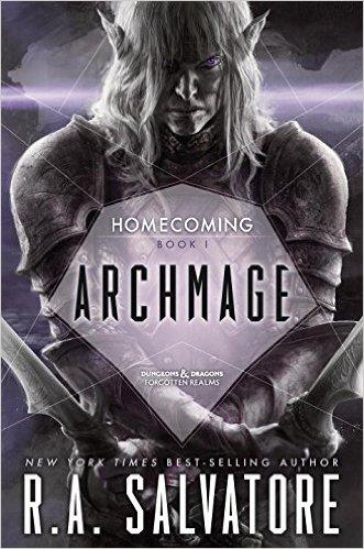 Epic Fantasy book Archmage by R. A. Salvatore