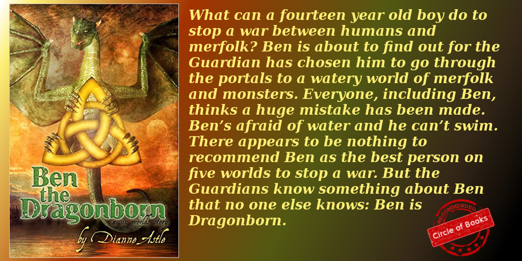 Ben the Dragonborn by Dianne Astle myadv