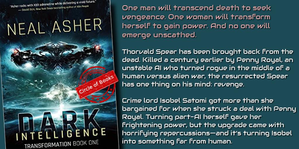 Dark Intelligence by Neal Asher Transformation book 1
