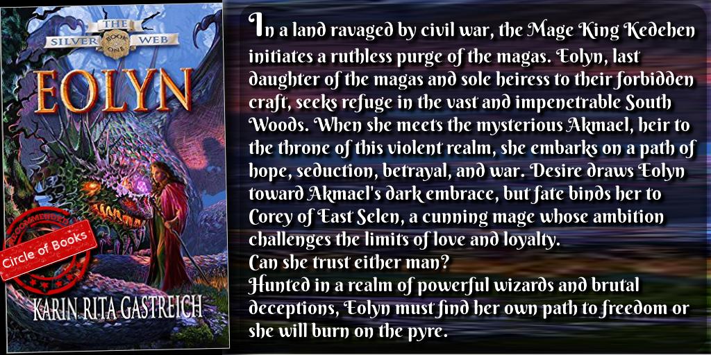 tweet fantasy Eolyn (The Silver Web Book 1) by Karin Rita Gastreich