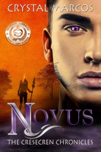 Novus (The Cresecren Chronicles #1) new cover by Crystal Marcos_