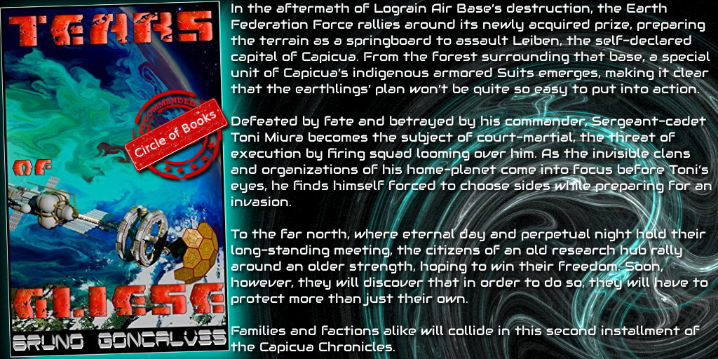 tweet Tears of Gliese (Capicua Chronicles Book 2) by Bruno Goncalves