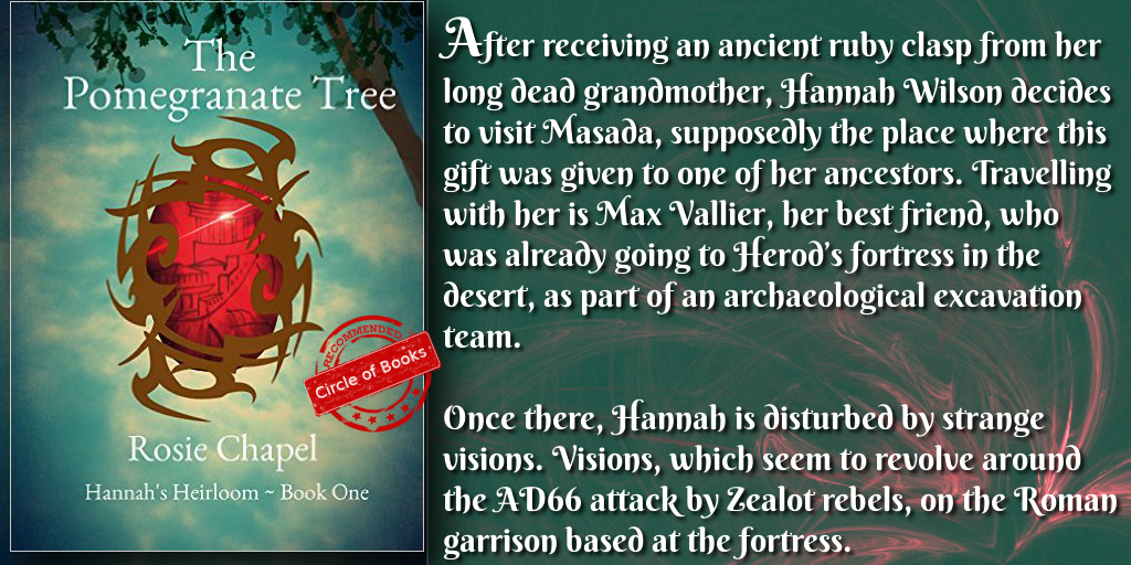 tweet The Pomegranate Tree (Hannah's Heirloom Book 1) by Rose Chapel
