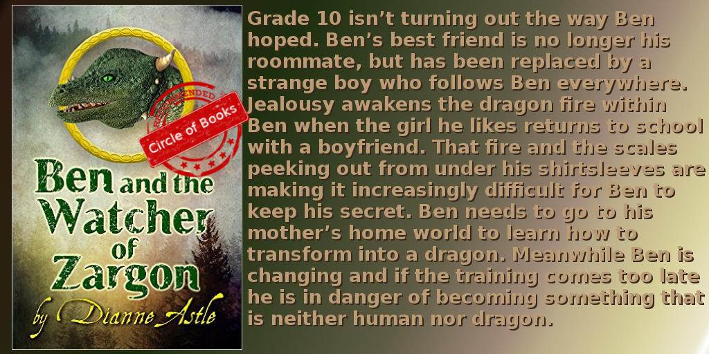 tweet fantasy, Ben and the Watcher of Zargon by Dianne Astle