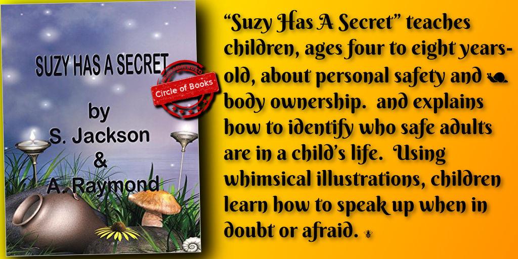 tweet Suzy Has a Secret by S. Jackson and A. Raymond