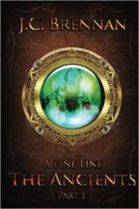Cover A Fine Line the Ancients - Part I by JC Brennan