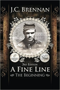 Cover A Fine Line The Beginning by JC Brennan