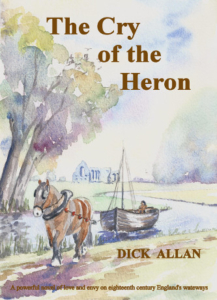 Cover Cry of the Heron by Dick Allan