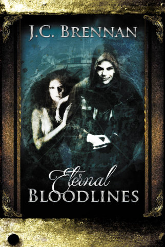 Cover Eternal Bloodlines by JC Brennan