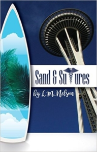 Cover Sand & Sutures (Scrubs Series Book 2) by L. M. Nelson