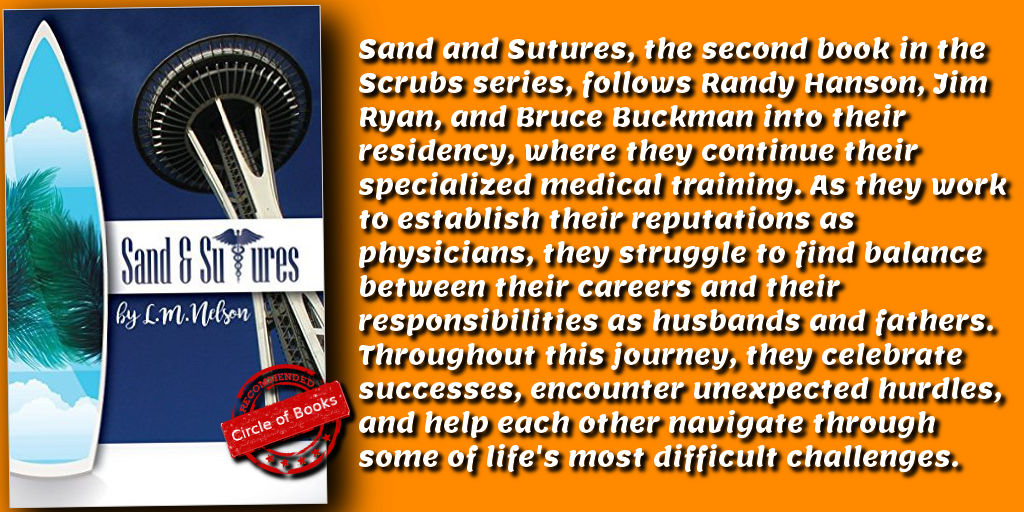 Tweet Sand & Sutures (Scrubs Series Book 2) by L. M. Nelson