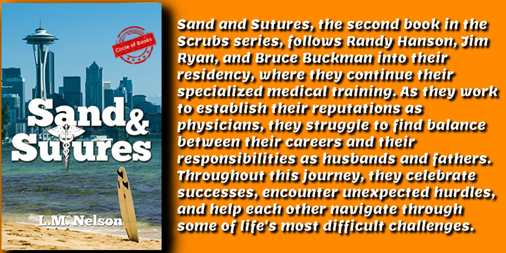 Sand & Sutures (Scrubs Series Book 2) by L. M. Nelson novo