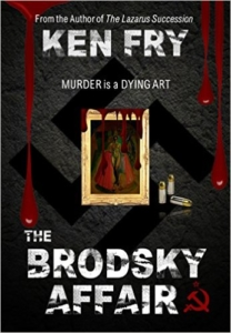 Cover The Brodsky Affair - Murder is a Dying Art by Ken Fry