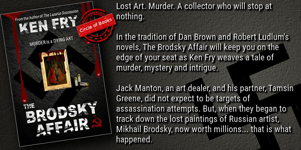 Tweet he Brodsky Affair - Murder is a Dying Art by Ken Fry