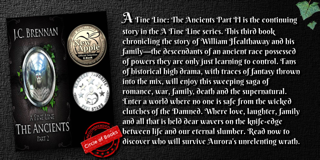 Tweet A Fine Line The Ancients Part II by JC Brennan