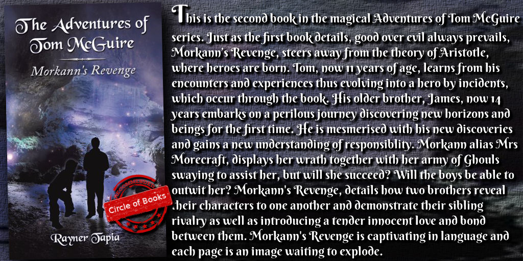 Tweet Morkann's Revenge(The Adventures of Tom McGuire Book 2) by Rayner Tapia