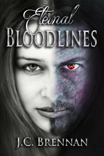 front Cover Eternal Bloodlines by J. C. Brennan