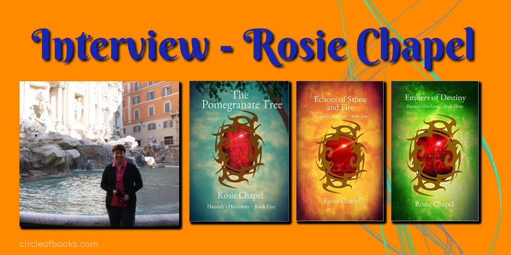 tweet interview author Rosie Chapel