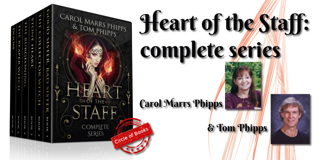tweet heart of staff complete series by Carol Marrs Phipps and Tom Phipps