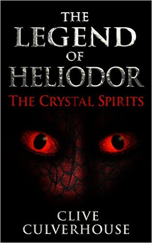 Cover The Lengend of Heliodor - The Crystal Spirits by Clive Culverhouse