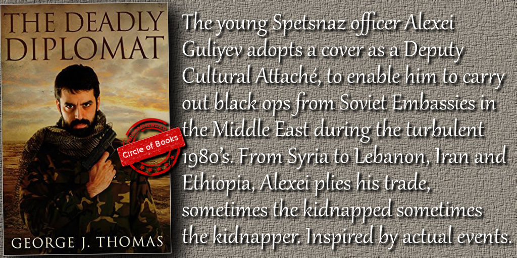 Tweet The Deadly Diplomat by George Thomas