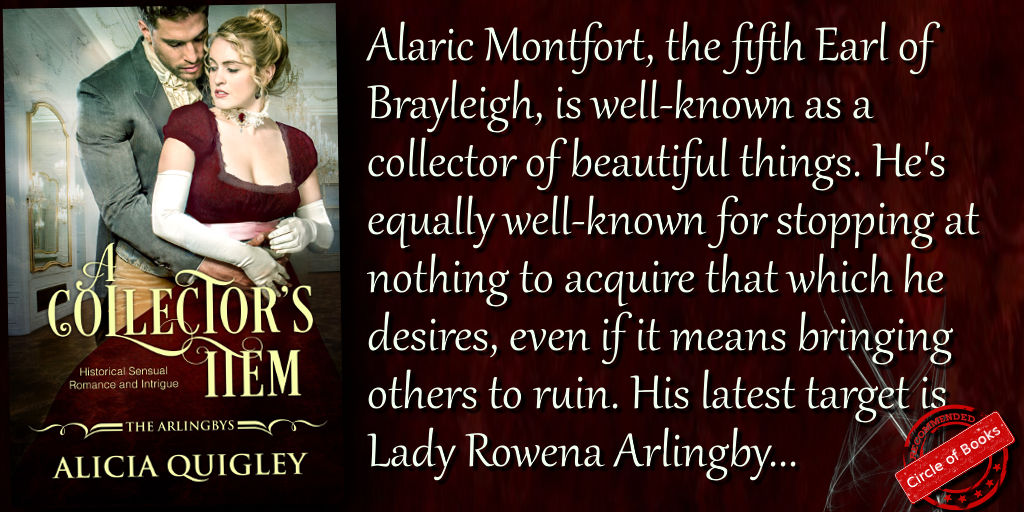 Tweet A Collectors Item - Rowenas after dark regency romance - The arlingbys book 1 by Alicia Quigley