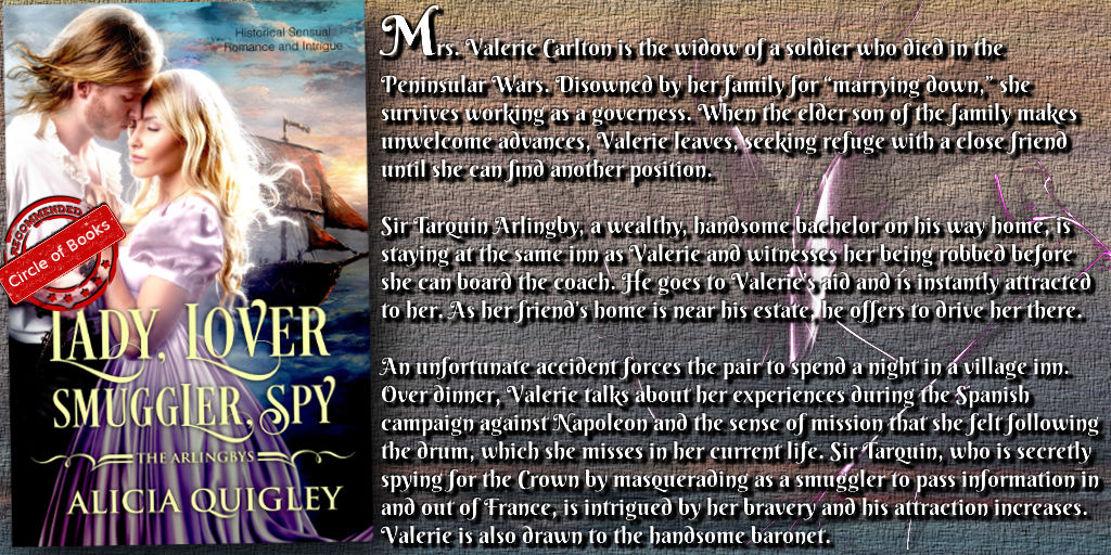 Tweet Lady Lover Smuggler Spy - The Arlingby's book 3 by Alicia Quigley