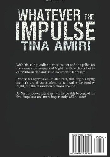 back cover Whaterver Impulse by Tina Amiri
