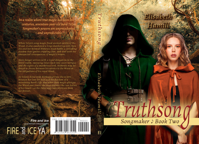 full cover TruthSong - Songmaker book 2 by Elisabeth Hamill