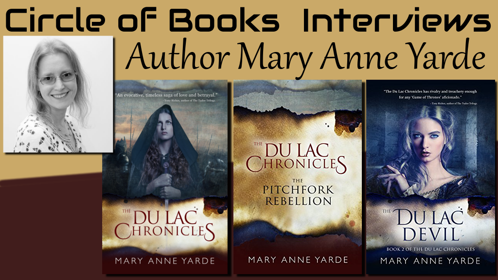 tweet interview Mary Anne Yarde