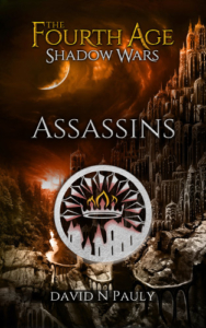 Front Cover The Fourth Age Shadow Wars -Assassins by David Pauly