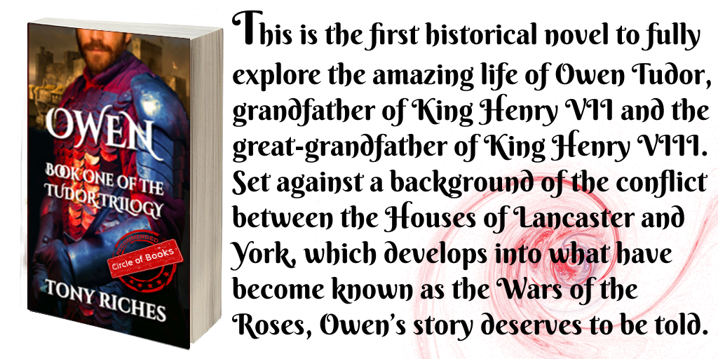 Tweet Owen - The tudor Trilogy book 1 by Tony Riches