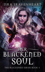 front cover Her Blackened soul by Isra Sravenheart