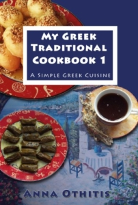Front Cover My Greek Traditional CookBook 1 by Anna Othitis