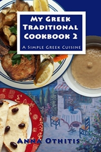 Front Cover My Greek Traditional CookBook 2 by Anna Othitis