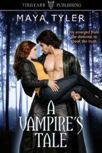 Front cover A Vampire's Tale by Maya Tyler
