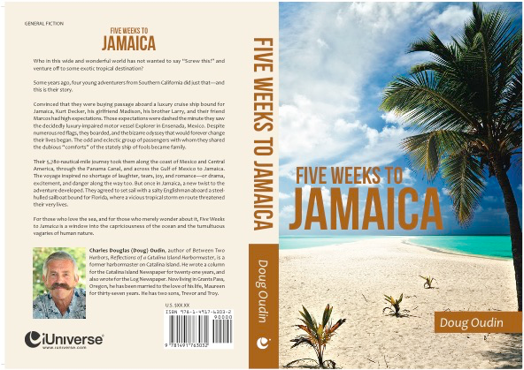 Full cover Five Weeks to Jamaica by Doug Oudin
