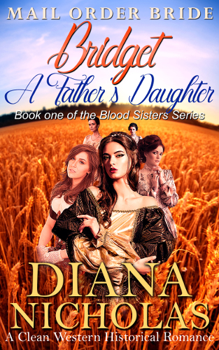 cover Bridget, a father's daughter by Diana Nicholas