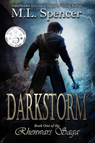 front cover Darkstorm by M L Spencer