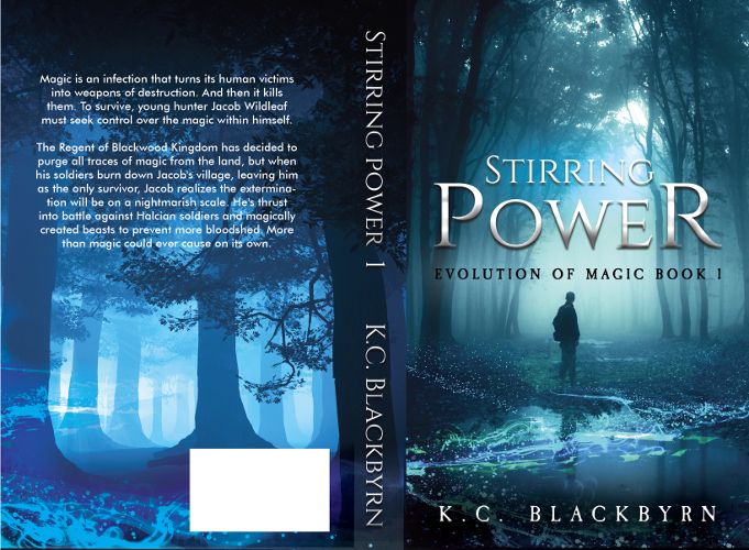 full cover Stirring Power by K.C. Blackbyrn