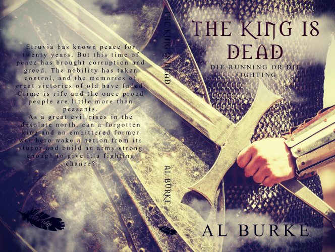 full cover The King is Dead by Al Burke