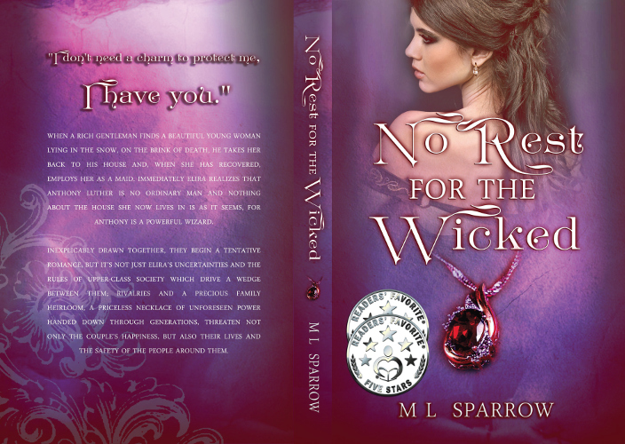 Full cover No Rest for the Wicked by M L Sparrow