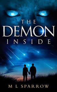 cover The Demon Inside by M L Sparrow