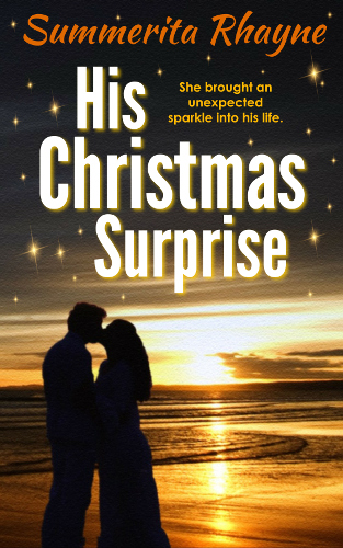 front cover His Christmas Surprise by Summerita Rhayne