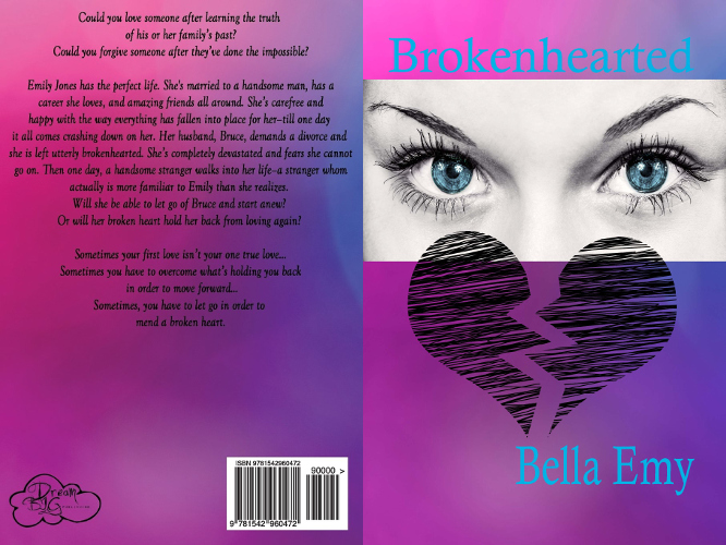 full cover Brokenhearted by Bella Emy