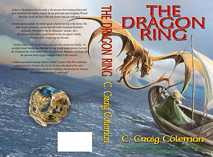 full cover the dragon ring - the neuyokkasinian arc of empire series 1 by c craig Coleman