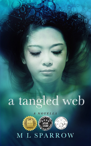 new front cover A Tangled Web by ML Sparrow