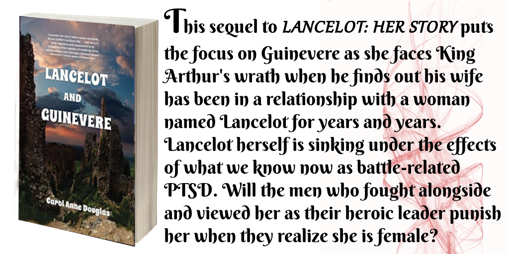 tweet Lancelot and Guinevere by Carol Anne Douglas