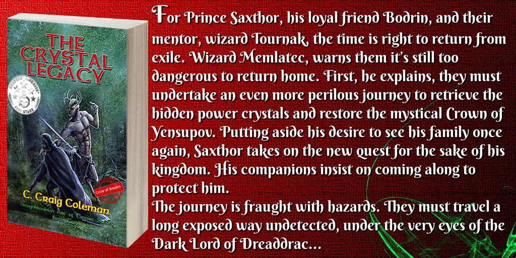 tweet the crystal legacy - the neuyokkasinian arc of empire series 2 by c craig Coleman