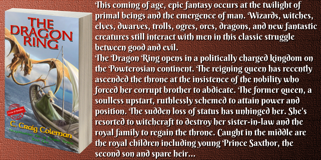 tweet the dragon ring - the neuyokkasinian arc of empire series 1 by c craig Coleman